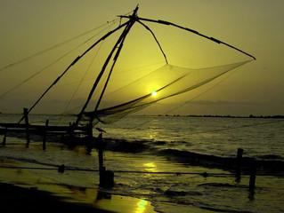 Kochi (Cochin), la regina del mare Arabico. (KERALA).India del Sud.