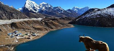 lo spettacolare panorama del Nepal