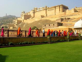 Il forte di Amber a Jaipur