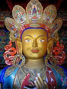 monastero di Thiksey, il Buddha del futuro