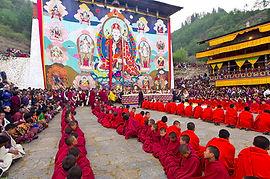 festival di Paro Bhutan