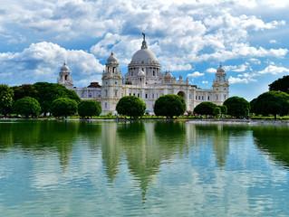 Il Victoria Memorial a Calcutta