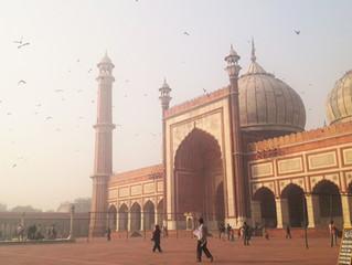 La Jama Masjid di Delhi