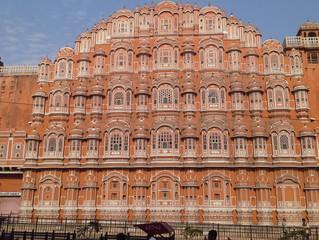 """Jaipur """"la città rosa"""" del Rajasthan"""