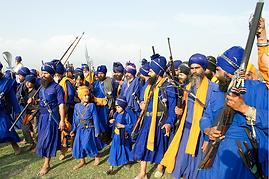 nihang i guerrieri Sikh