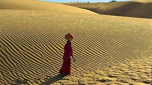 deserto del Thar sunset
