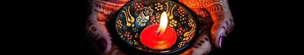 le luci della festa di Diwali