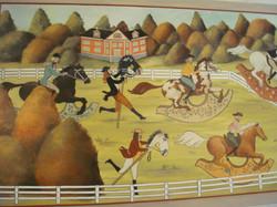 ognuno gareccia con il cavallo che ha2.J
