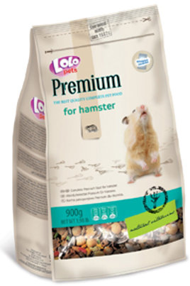 Lolo Pets - Premium Hamster - 1.98 lb - Complete Premium Food for Hamster
