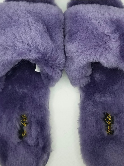 Cozy Slippers - lavender