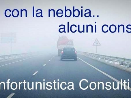 Guidare con la nebbia: alcuni consigli utili