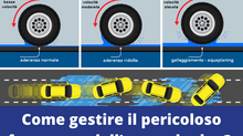 Cos'è l'Aquaplaning e come lo si deve gestire.