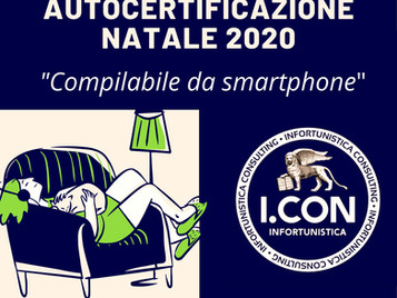 Autocertificazione Natale 2020 scaricabile  da Smartphone