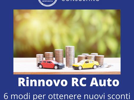 Rinnovo polizza RC Auto
