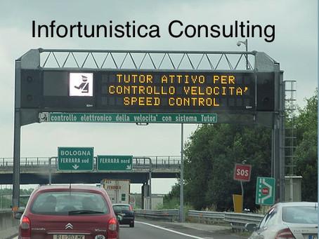 """Spenti i """"Tutor"""" in autostrada"""