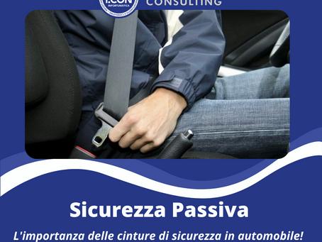 Scopo e utilizzo delle cinture di sicurezza in auto.