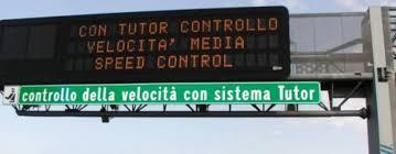 Multe:Via i Tutor dalle autostrade. Sentenza clamorosa!