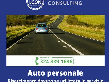 Auto privata per uso aziendale