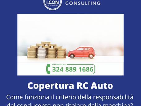RC Auto, quando il conducente è diverso dal proprietario.