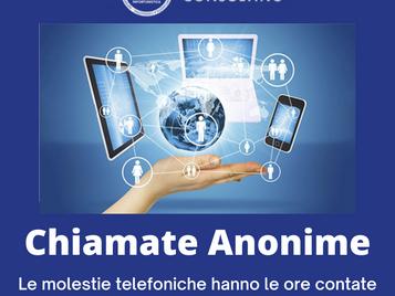 Stop alle chiamate da numeri anonimi
