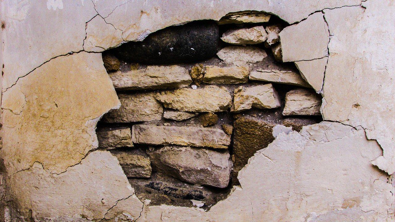 Danni da rovina di edifici