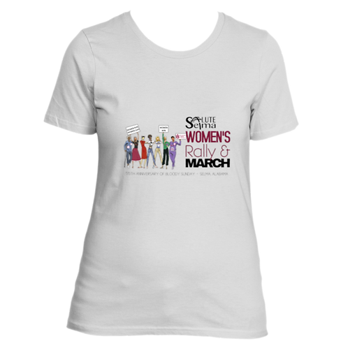 2020 Women's Rally and March Ladies T-shirt
