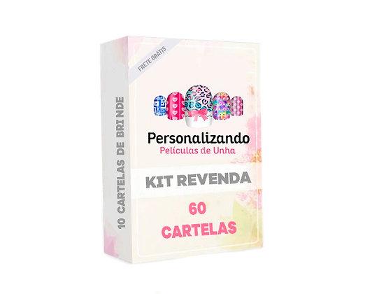 KIT Revenda - 60 Cartelas