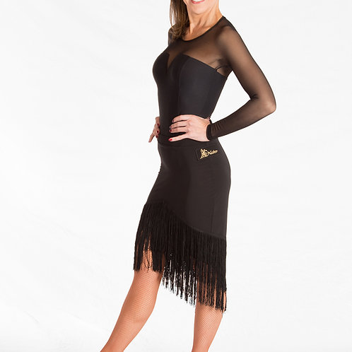 Fringe Bottom Rhythm Skirt