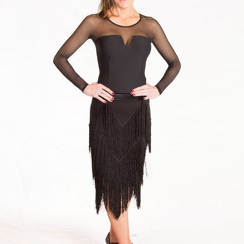 Cha-cha Fringe Rhythm Skirt
