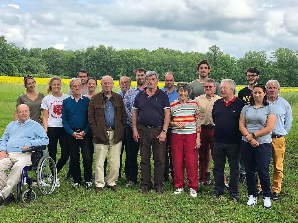 Les membres de l'ACASCE ont un seul but : la fin de l'engrillagement en Sologne