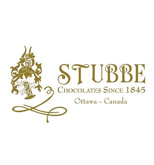 Stubbe Chocolates Logos on x2 dimensions