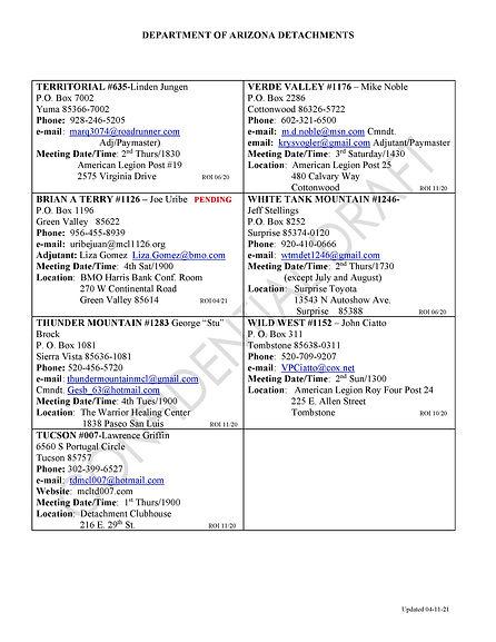 Dept of AZ Inform.roster updated4-11-202