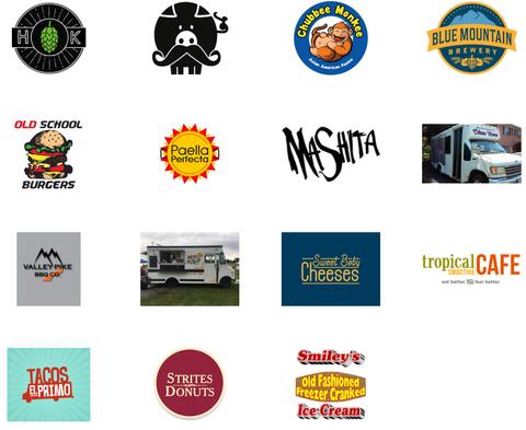2018 Food Truck List