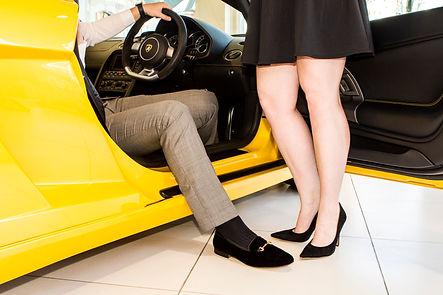 Sir horsebit slip on shoe and Lady valeri stiletto