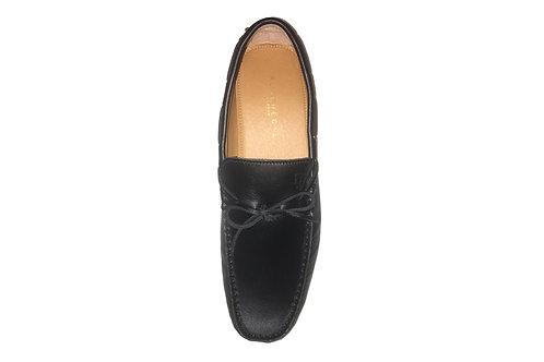 Sir Regan - Caviar Black Leather