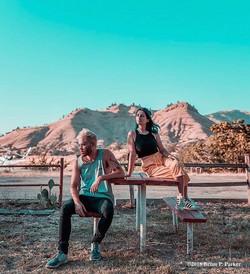 photoshoot in the desert