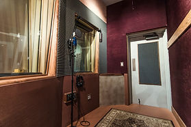 vocal booth for recording artist