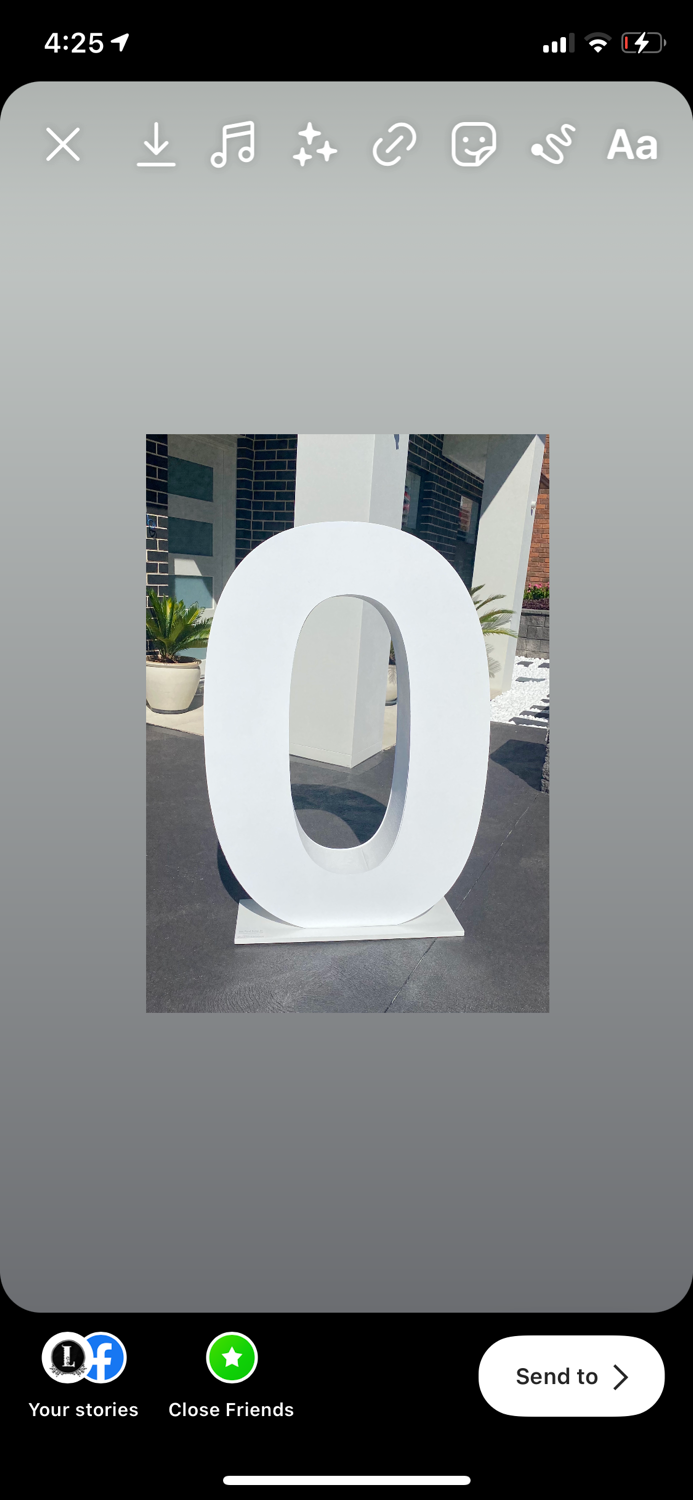 Number 0 Hire (white)