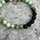 Thumbnail: Chrysoprase with Lava Rock bracelet
