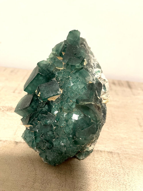 Green Fluorite Top Quality Piece