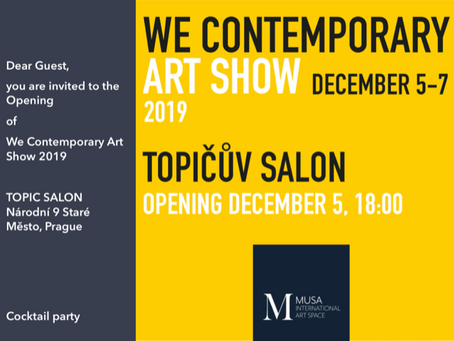 We Contemporary Art Show 2019 in Praag