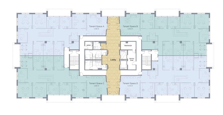 Victory Park MOB_Typical Four-Tenant Floor Plan_crop.png