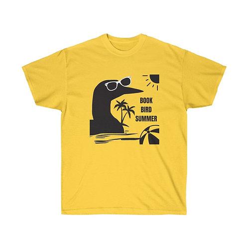 Book Bird Summer Unisex Regular Fit T-Shirt