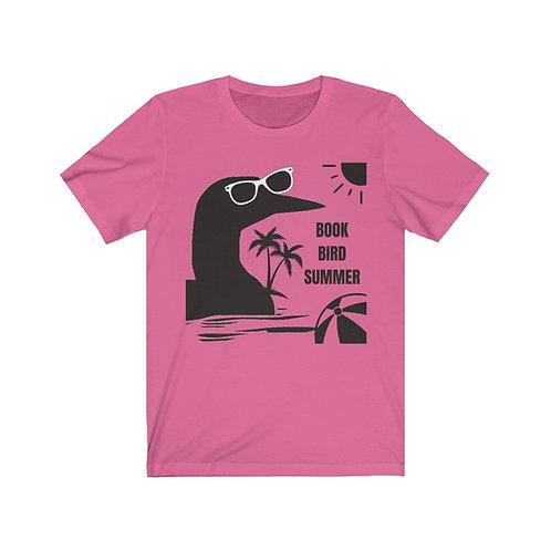 Book Bird Summer Unisex Retail Fit Jersey T-Shirt