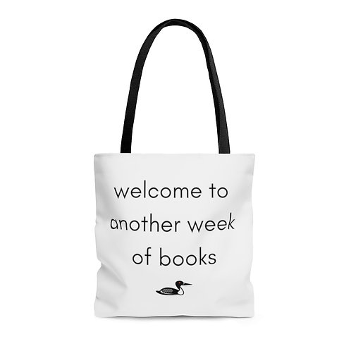 Welcome to Another Week of Books Tote