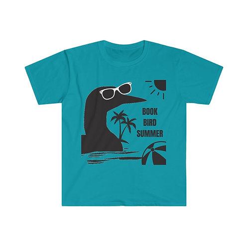 Book Bird Summer Unisex Eurofit T-Shirt