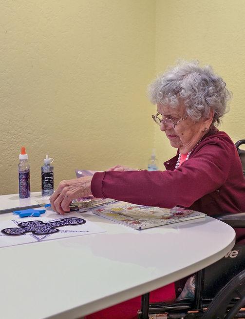 Senior Art Craft | Group Home Activities | 4 Seasons Senior Living