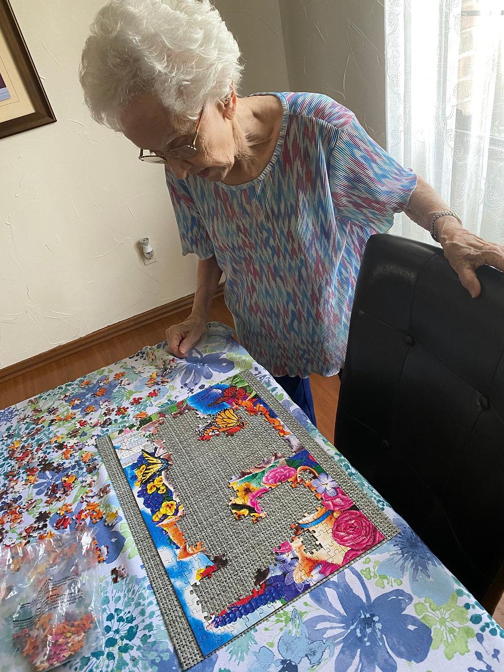 Senior Puzzle | Group Home Activities | 4 Seasons Senior Living
