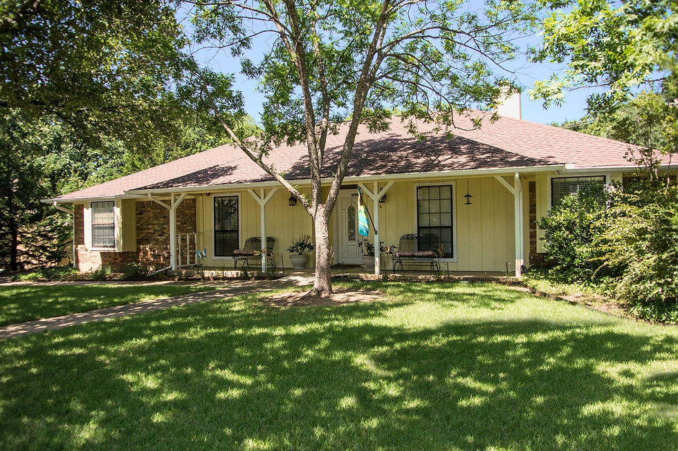 Ranch style residential care home in lewisville texas