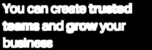 You can create a winning Organization!-2